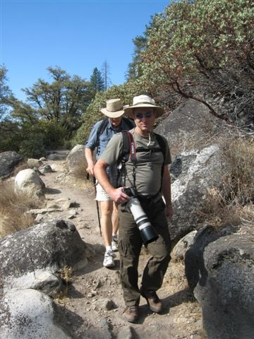 Hiking at Pinecrest