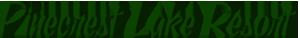 Pinecrest Lake Resort Logo