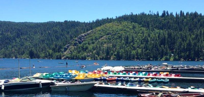 Marina at Pinecrest Lake